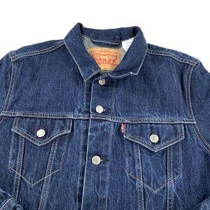 Levi's Trucker Dark Wash Denim Jacket